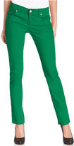 INC International Concepts Petite Jeans, Skinny Ankle-Length Colored