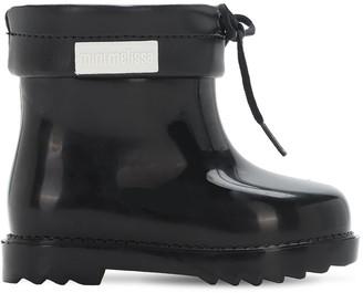 Mini Melissa Scented Glitter Rubber Boots