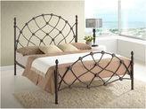 Asstd National Brand Baxton Studio Monique Chic Iron Metal Platform Bed