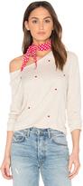 Sundry Heart Crop Sweatshirt