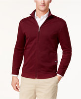 Tasso Elba Men's Jacquard Full Zip Sweater, Created for Macy's