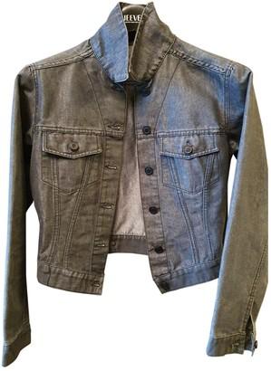 Gucci Grey Cotton Jackets