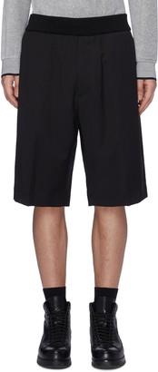 3.1 Phillip Lim Elastic waistband virgin wool shorts