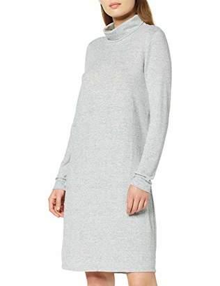 Vero Moda NOS Women's Vmmalena Ls Rollneck Short Dress Noos Light Grey Melange, (Size: )