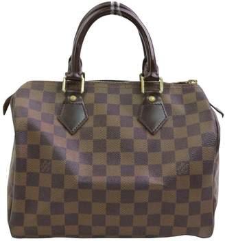 Louis Vuitton Speedy Brown Leather Handbags