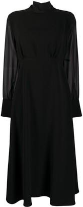 Seventy Open-Back Midi Dress