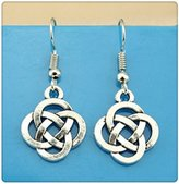 Nobrand No brand Simple Vintage chinese knot Charm Dangle Earring, Charming Drop Earring