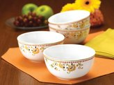 Rachael Ray Set of 4 Paisley Cereal Bowls