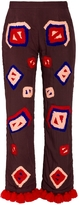 Fina Embroidered Trousers