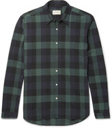 Oliver Spencer - New York Special Slim-fit Checked Cotton Shirt