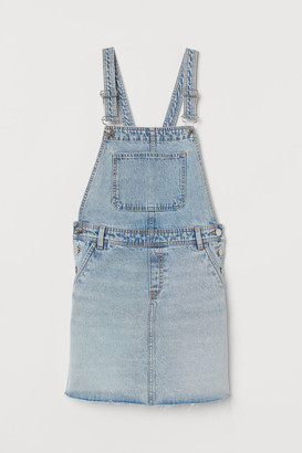 H&M Denim Overall Dress - Blue