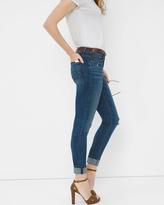 White House Black Market Destructed Skimmer Jeans