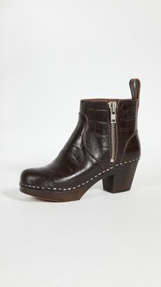 Swedish Hasbeens Zip It Emy Boots