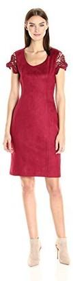 Nanette Lepore Women's Scoop Neck Body Con Dress
