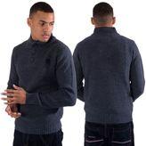 Kangol Mens Funnel Neck Winter Knitwear Jumper Pullover Sweater Sizes S - XXL