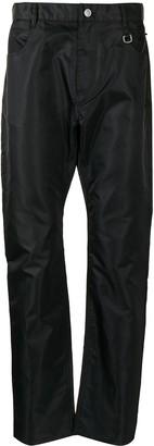 Alyx Straight-Leg Satin-Shell Trousers