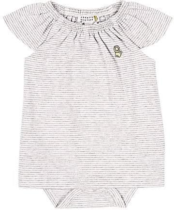Barneys New York Infants' Striped Dress - Gray