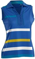 Women's Nancy Lopez Blast Sleeveless Golf Polo