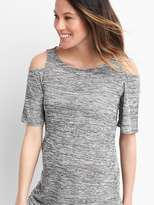Gap Maternity jersey cold-shoulder tee