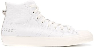 adidas Leather High Top Trainers