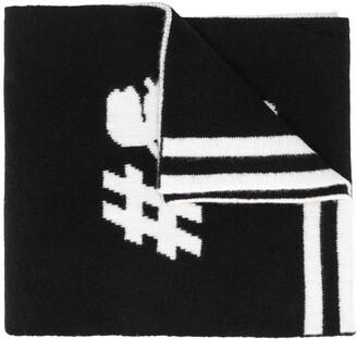 Karl Lagerfeld Paris team scarf