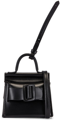 Boyy Karl Charm with Strap in Black | FWRD