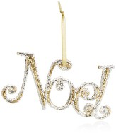 "Bloomingdale's Glitter ""Noel"" Ornament - 100% Exclusive"