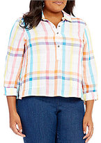 Westbound Plus Two Pocket Boxy Popover Top