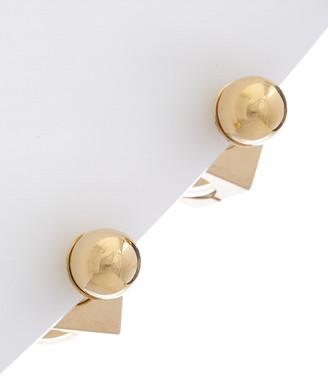 Christian Dior Brass Earrings