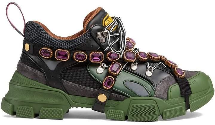 b7389b18f97 Gucci Black Lug Sole Men s Shoes