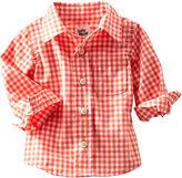 Osh Kosh Checkered Button-Front Shirt
