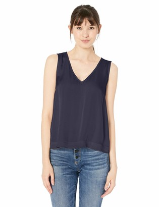 Velvet by Graham & Spencer Women's Mace Satin Viscose Tank