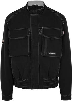 Martine Rose Napa By A-Lynx Black Cotton Twill Jacket