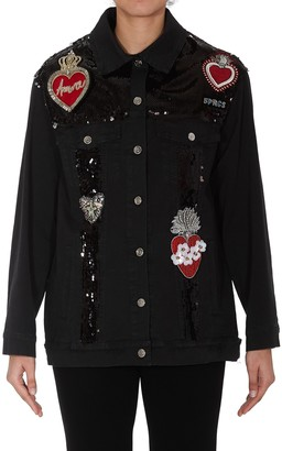 5 PROGRESS Patch Denim Jacket