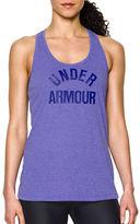 Under Armour Threadborne Logo Print Tank