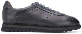 Doucal's ridged sole lace-up sneakers