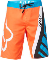 "Fox Men's Motion Creo Logo-Print Swim Trunks, 21"" inseam"