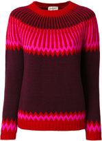 Antonia Zander patterned jumper