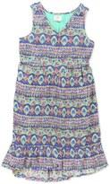 O'Neill Adeline Floral Print High/Low Dress (Big Girls)