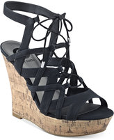 G by Guess Dritta Cork Wedge Sandals