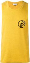 Gosha Rubchinskiy embroidered tank top - men - Cotton/Polyester - L