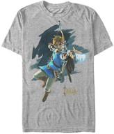 Fifth Sun Men's Tee Shirts ATH - Legend of Zelda Athletic Heather Jump Tee - Men
