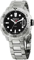 Alpina Women's AL240LB3V6B Extreme Diver Analog Display Swiss Quartz Silver Watch