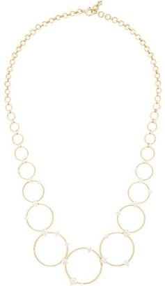 Fernando Jorge Aerial Loops Diamond & 18kt Gold Drop Necklace - Womens - Gold