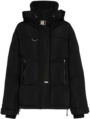 SHOREDITCH SKI CLUB Willow hooded puffer jacket