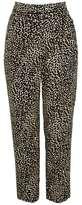 Topshop Animal print peg trousers