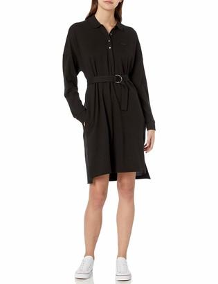 Lacoste Womens Long Sleeve Polo Dress Casual Dress