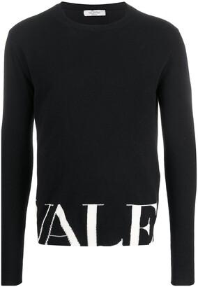 Valentino Logo Knit Jumper