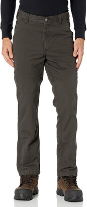 Carhartt Men's Big & Tall Rugged Flex Relaxed Fit Canvas Flannel-Lined Utility Work Pant