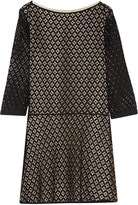 See by Chloe Cotton-blend guipure lace mini dress